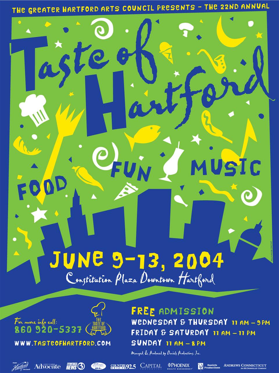 Taste of Hartford Poster