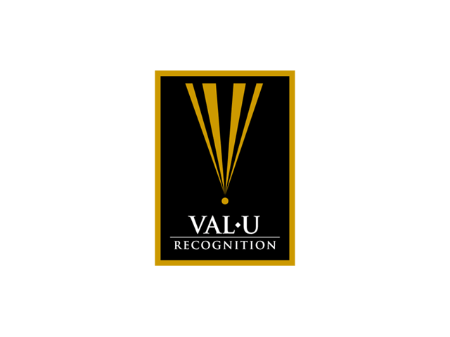 Val-U Recognition Logo