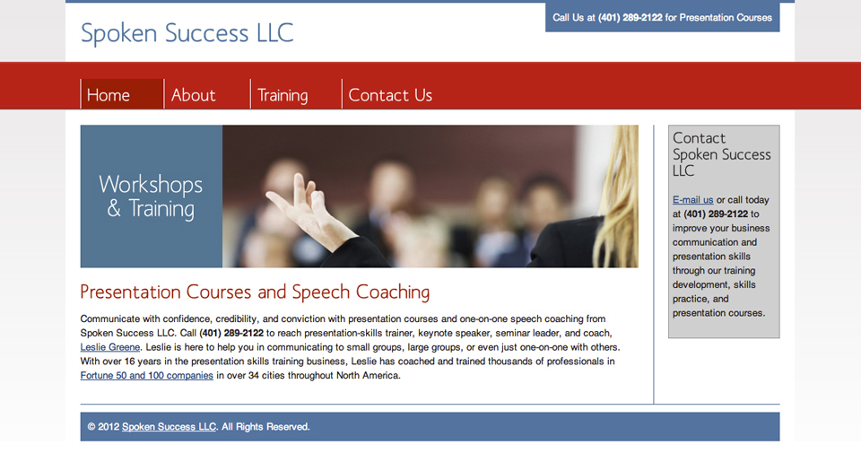 Spoken Success