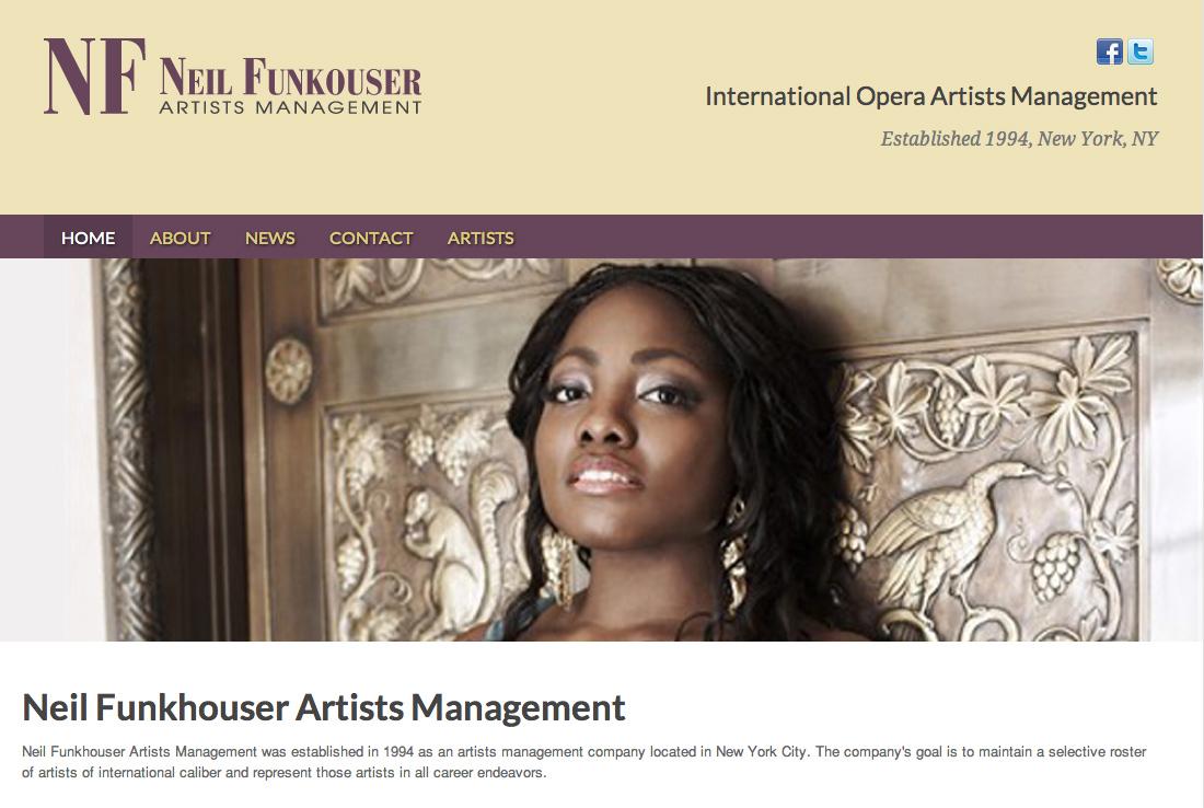 Neil Funkhouser Artists Management