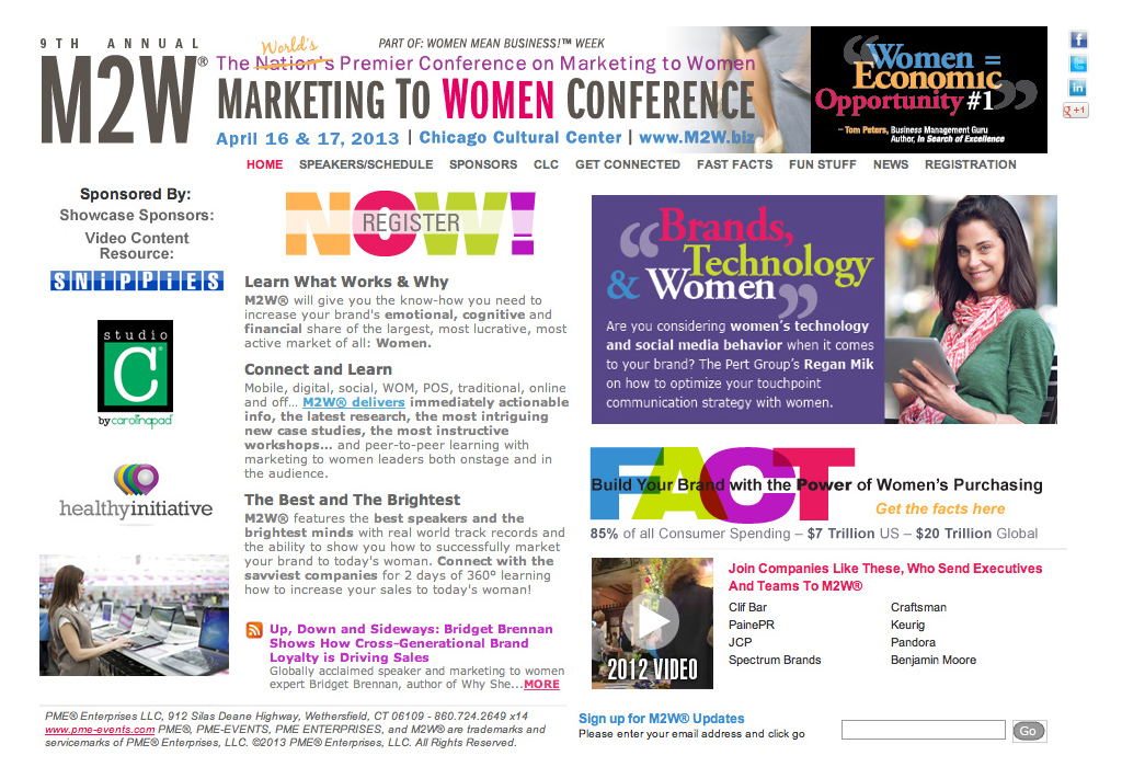 National Women's Marketing Conferences