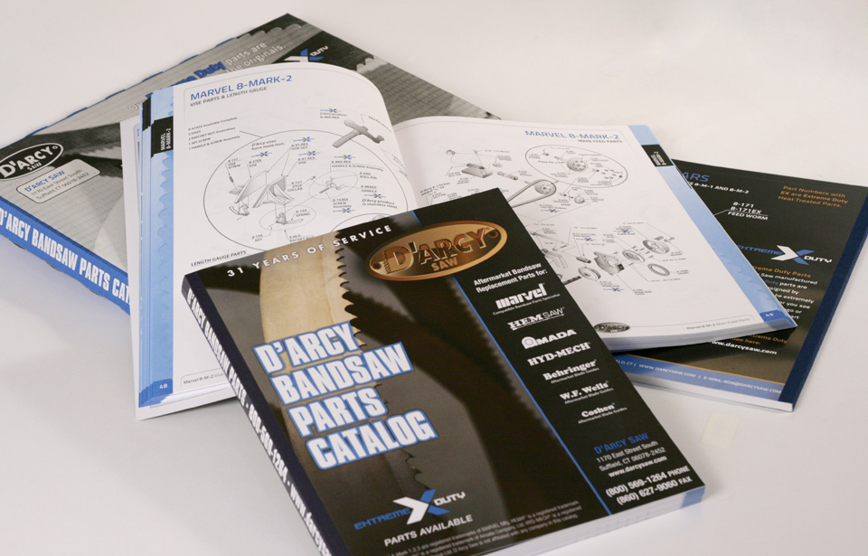 D'Arcy Saw Bandsaw Parts Catalog