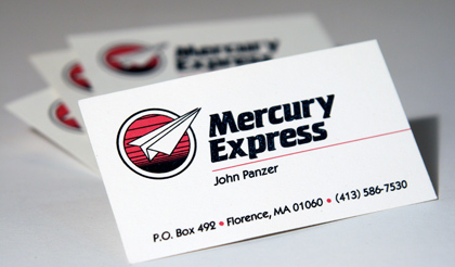 From the retro collection kelly design company mercury express logo reheart Choice Image