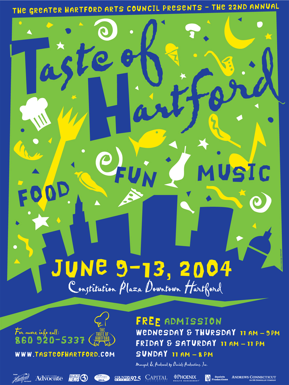 Taste of Hartford Poster