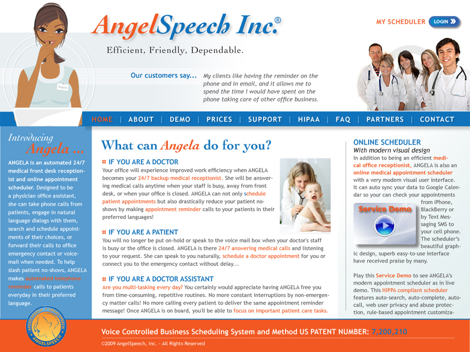 Angel Speech, Inc.