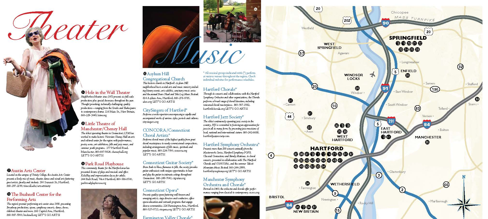 Arts Alive Map