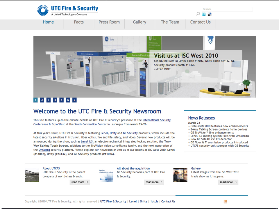 United Technologies Fire & Security