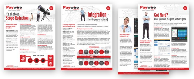 Paywire Fact Sheets