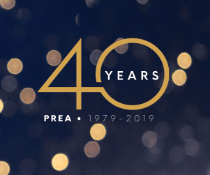 PREA 40th Year Invitation