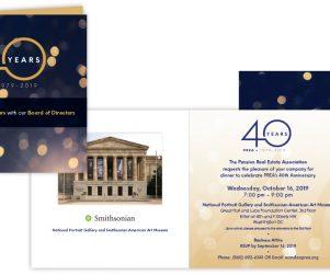 PREA 40th Anniversary Board of Directors Invitation